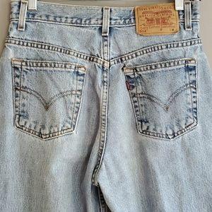 Vintage levis 512 slim straight leg 9 Jr m high